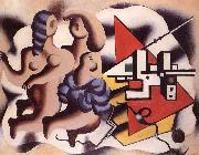 Fernand Leger Iwo women oil painting reproduction